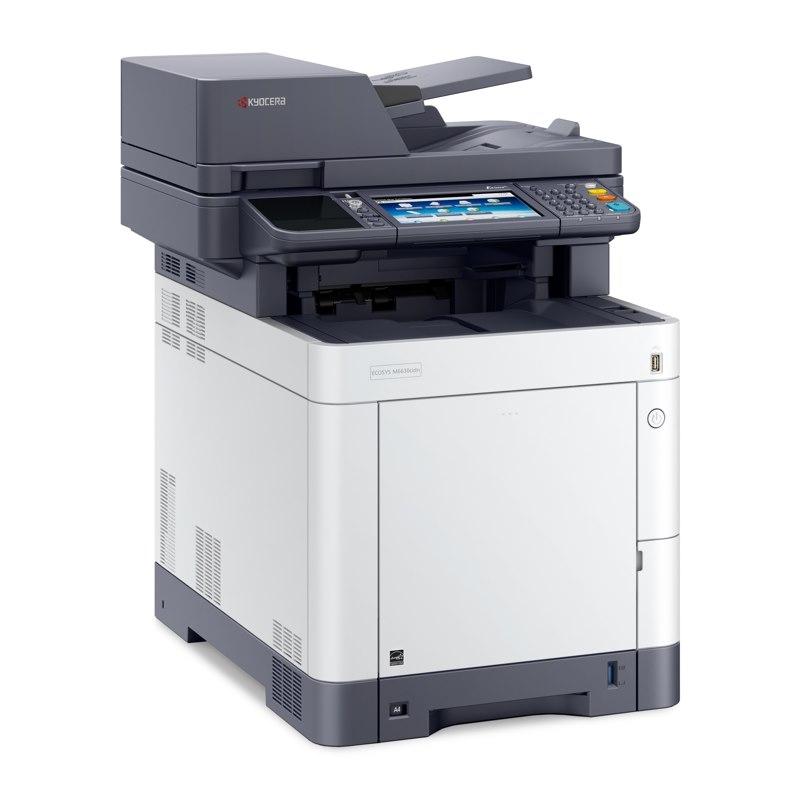 Kyocera M6630cidn Colour Laser Multifunction - Print, Scan, Copy, Fax
