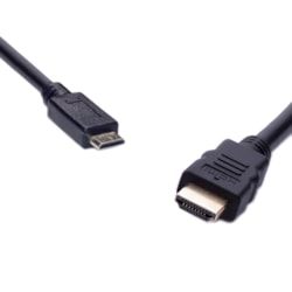 8Ware Mini Hdmi To High Speed Hdmi Cable Male-Male 2M