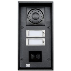 2N Ip Force - 2 Buttons (Card Reader Ready) 10W Speaker