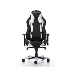 DXRacer WZ0 Wide Series Gaming Chair With Neck/Lumbar Support - Black And White