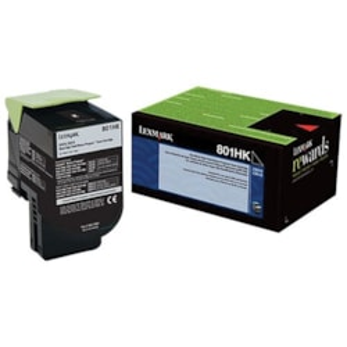 Lexmark C236HM0 Black High Yield Return Program Toner 3K For C2425 MC2425