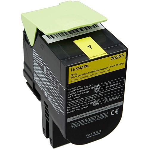 Lexmark C236HY0 Yellow High Yield Return Program Toner 2.3K For C2425 MC2425