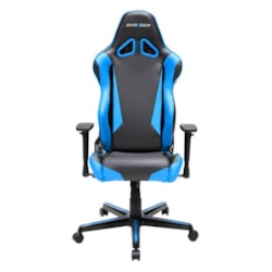 DXRacer RM1 Series Gaming Chair With Backrest Cover And Neck/Lumbar Support (Black/Blue)