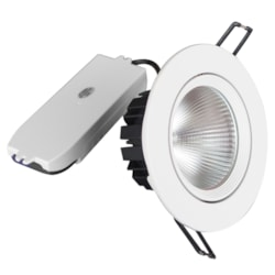 NationStar Recessed Led Downlight Kit 9W (650 LM) Cool White Dimmable