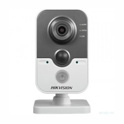 Hikvision Ds-2Cd2442f-Iw4 4MP Indoor Cube, Wifi, H.264+, 10M Ir, Pir, 120dB WDR, Ip66, PoE, 4MM
