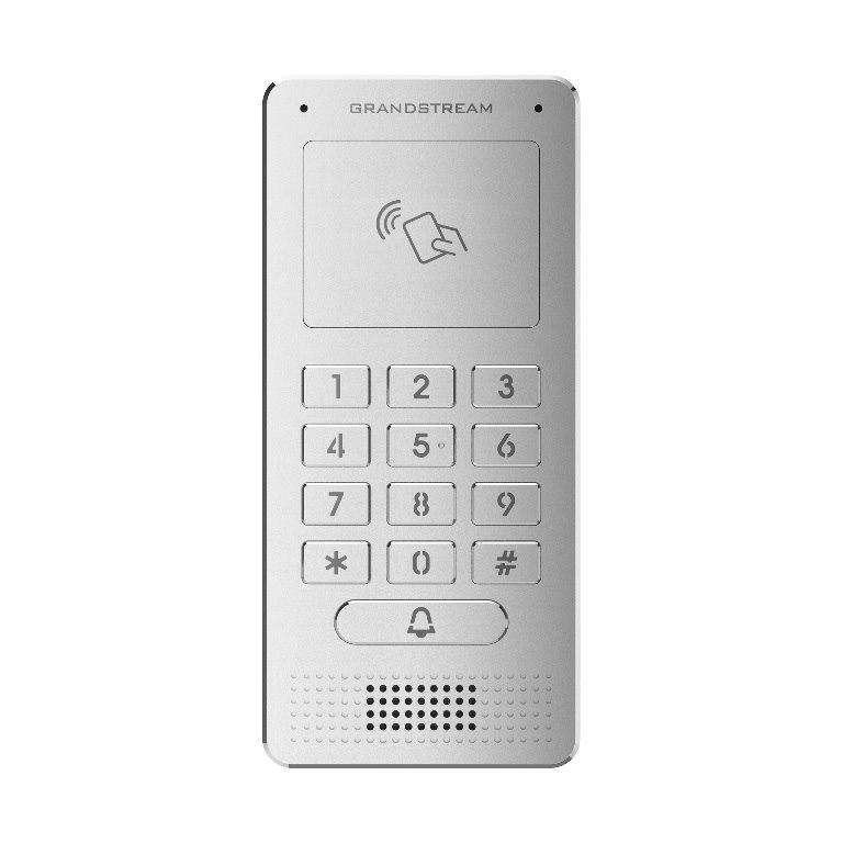 Grandstream HD Ip Video Door System, Poe Powered, Power Supply Not Included