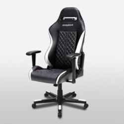 DXRacer Drifting (DF73) Series Gaming Chair With Neck/Lumbar Support (Black And White)