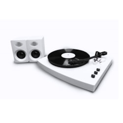 Mbeat Pro-M Bluetooth Stereo Turntable System (White)