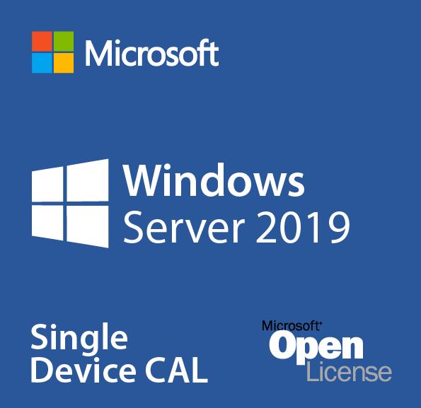 MICROSOFT WINDOWS SERVER CAL 2019 OLP 1L NOLEVEL USR CAL