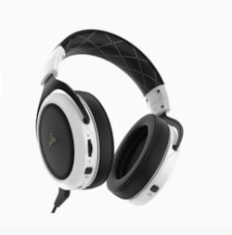 Corsair HS70 Wireless Gaming Headset, White