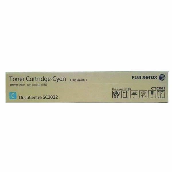 Fuji Xerox SC2022 CT203027 Cyan High Yield Toner 14.4K