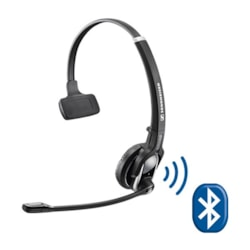 Sennheiser MB Pro 1 Bluetooth Headset, Connects To : PC,Smart Phones And Soft Phones Via Bluetooth