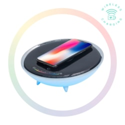 Mbeat Wireless Charging Station With RGB Colour Charging Case