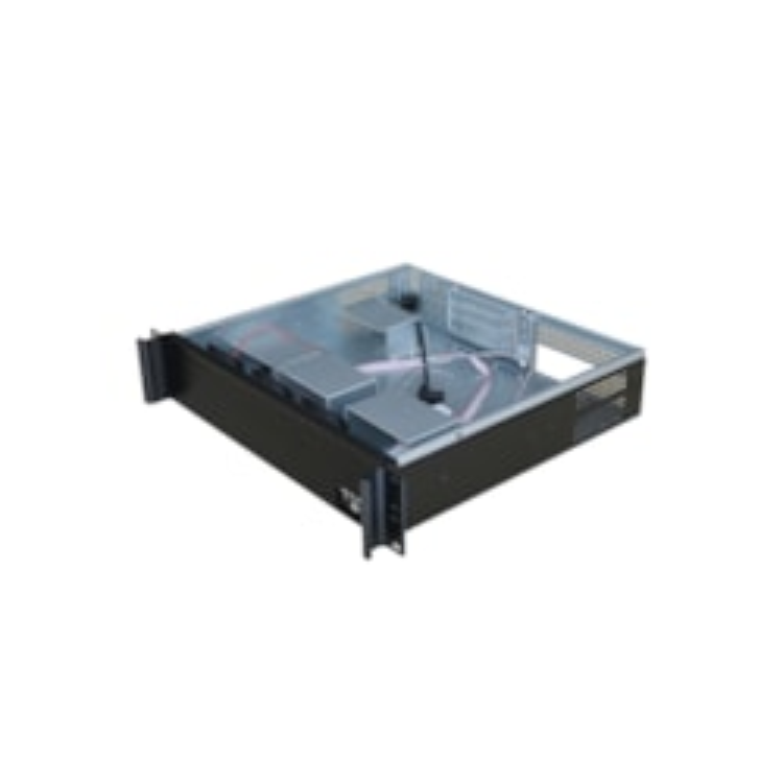 TGC Rack Mountable Server Chassis 2U 400MM Depth With Atx Psu Window - No Psu 3 Pci Full Size Slot