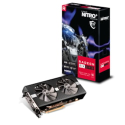 Sapphire Amd Nitro+ RX 590 8GB Gaming Video Card - 1560 / 2100MHz