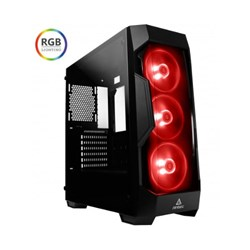 Antec DF500 RGB Atx Tempered Glass, Tinted Front, 3X RGB Fan, 380MM Vga, Gaming Case