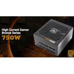 Antec HCG-750M 750W 80+ Bronze Fully Modular, 135MM DBB Fan, DC To DC Fully Bridge, Japanese Capacitor. 5 YRS Warranty