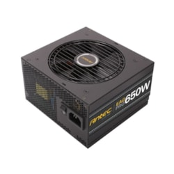 Antec Ea650g Pro 650W 80+ Gold Psu Semi-Modular, 120MM Silence Fan, Japanese Caps, 7 Years Warranty