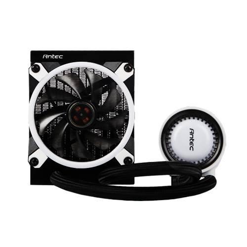 Antec Mercury 120 RGB Liquid Cpu Cooler, Large Pump, Efficient PWM Radiator Fan, Graphite Bearings, Lga 2066, 2011, Am4, FMx, 5 YRS Warranty