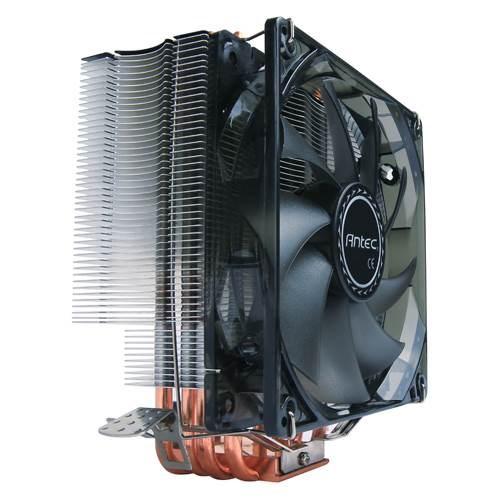 Antec C400 Air Cpu Cooler 120MM Blue Led 77 CFM, Intel 775, 115X, 1366, 2011, 2066, Amd: Am2, Am2+, Am3, Am3+, FM1, FM2, FM2+ 3 Years Warranty