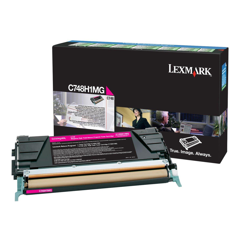 Lexmark C748 Magenta High Yield 10K Toner Return Program **Damaged Carton**