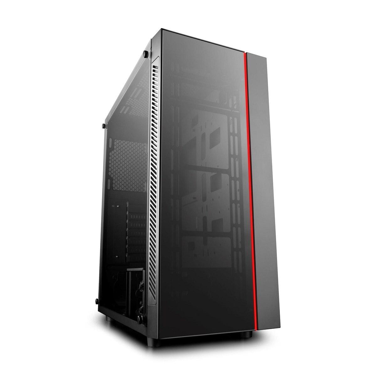 Deepcool Matrexx 55 Atx Minimalist Tempered Glass Case, Fits E-Atx MB