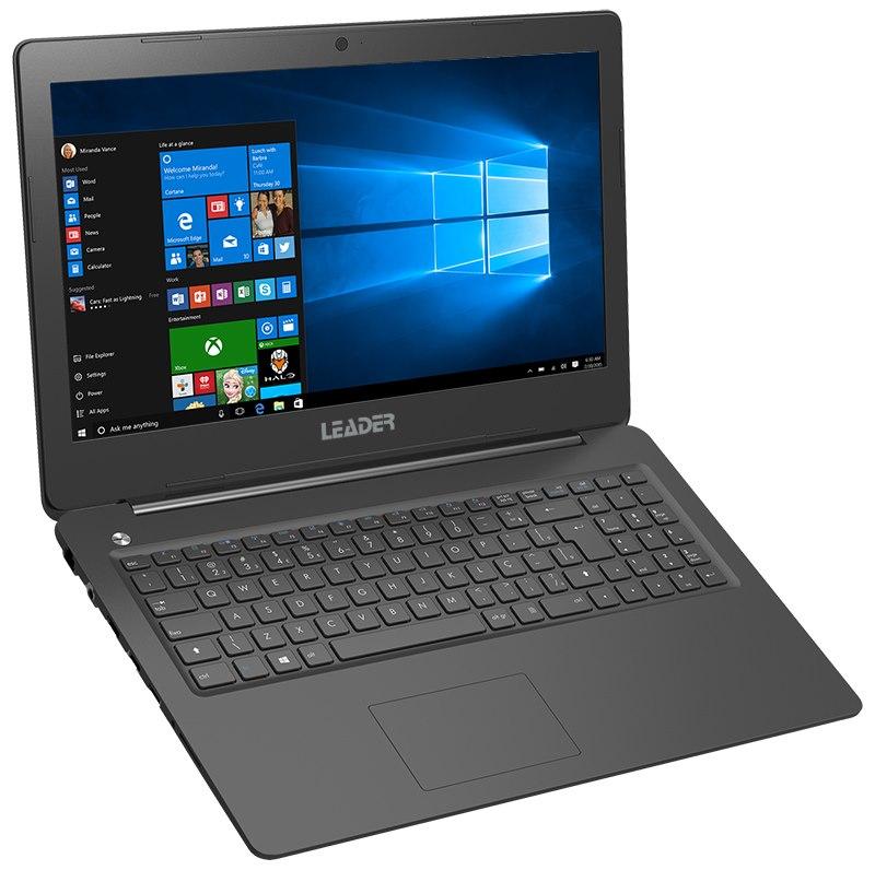 Leader Companion 526 Notebook, 15.6' HD, Intel I5-6260U Cpu, 8GB Memory, 480G BSSD, Windows 10 Professional, 2 Years Warranty, HD Camera, Black