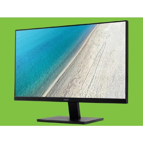 Acer V247Y Ips Thin Bezel Bmip 23.8H 16:9 4MS 250Nits Led 1xVGA, 1xHDMI, 1xDisplay Port, Speaker,VESA, 3 Years Warranty