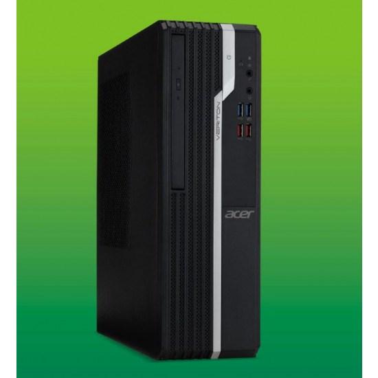 Acer Veriton X2660G SFF Core I3-8100 Cpu , 4GB DDR4 Ram, 1TB HDD, DVDSM,,1x VGA,1x HDMI,1x DisplayPort, Internal Speaker, Windows10 Pro, 3 Year Onsite WTY