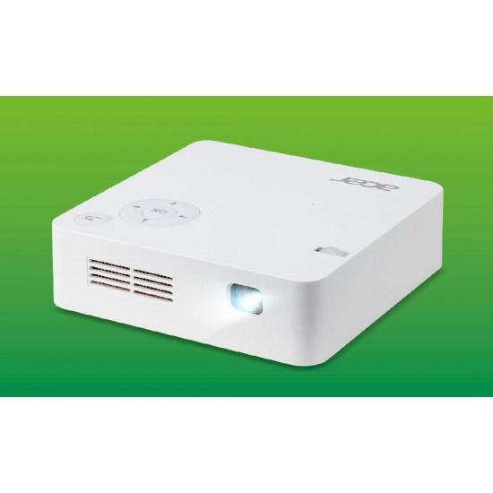 Acer C202i Ultra Portable DLP FWVGA/300Lm/16:9/5000:1 Contrast Ratio/2 YR WTY 6 MTHS On Lamp