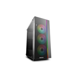 Deepcool Matrexx 70 Add-Rgb 3F Argb Full Sized Tempered Glass Argb Case W/ 3 Preinstalled RGB Fans