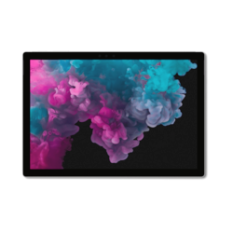 Microsoft Surface Pro 6 - Platinum, Intel I5-8250U, 8GB Ram, 128GB M.2 Pcie SSD, 12.3' QHD, Wifi, BT, Windows 10 Home, 1 Year Warranty - Retail
