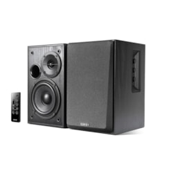 Edifier R1580MB - 2.0 Lifestyle Active Bookshelf Bluetooth Studio Speakers Black - BT/AUX/Dual Mic 42W