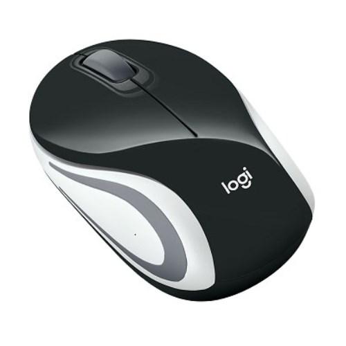 Logitech M187 Wireless Mouse Mini Pocket Size For Laptop Tiny Usb Nano Receiver Portable 2.4 GHz Wireless Connectivity