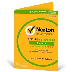 Norton Security 2018, 1 Device, 12 Months, PC, Mac, Android, Ios, Oem - Esd Version - Keys Via Email