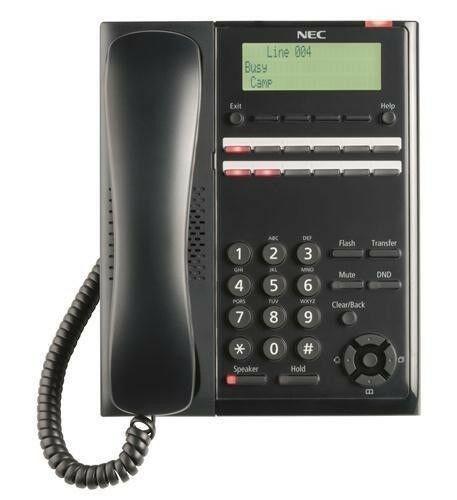 Nec - Digital 12 Button Tel (Black)