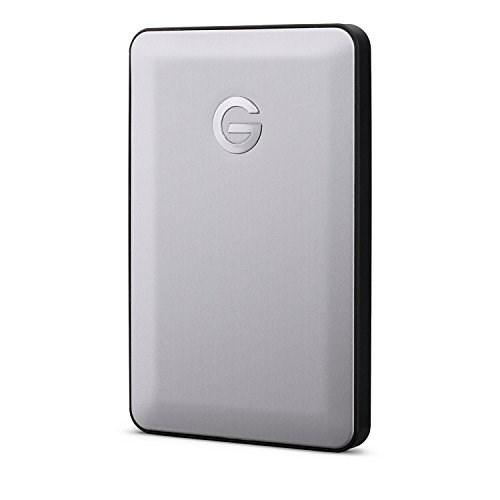 HGST G-Drive 1TB Usb-C 2.5' Portable External HDD, Space Gray, Gdmuc10001bhb, 3 Year Warranty