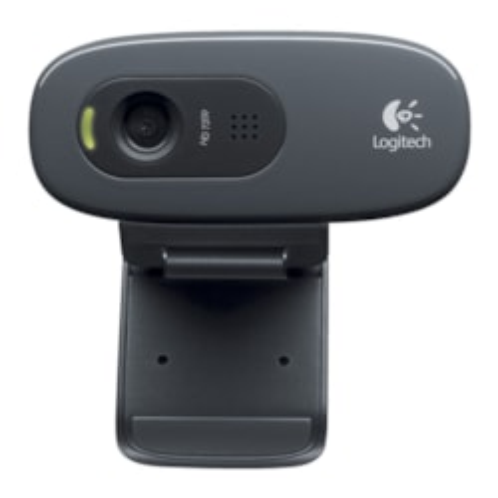 Logitech C270 3MP HD Webcam 720p/Built In Mic/Light Correc/IM Compatibility U