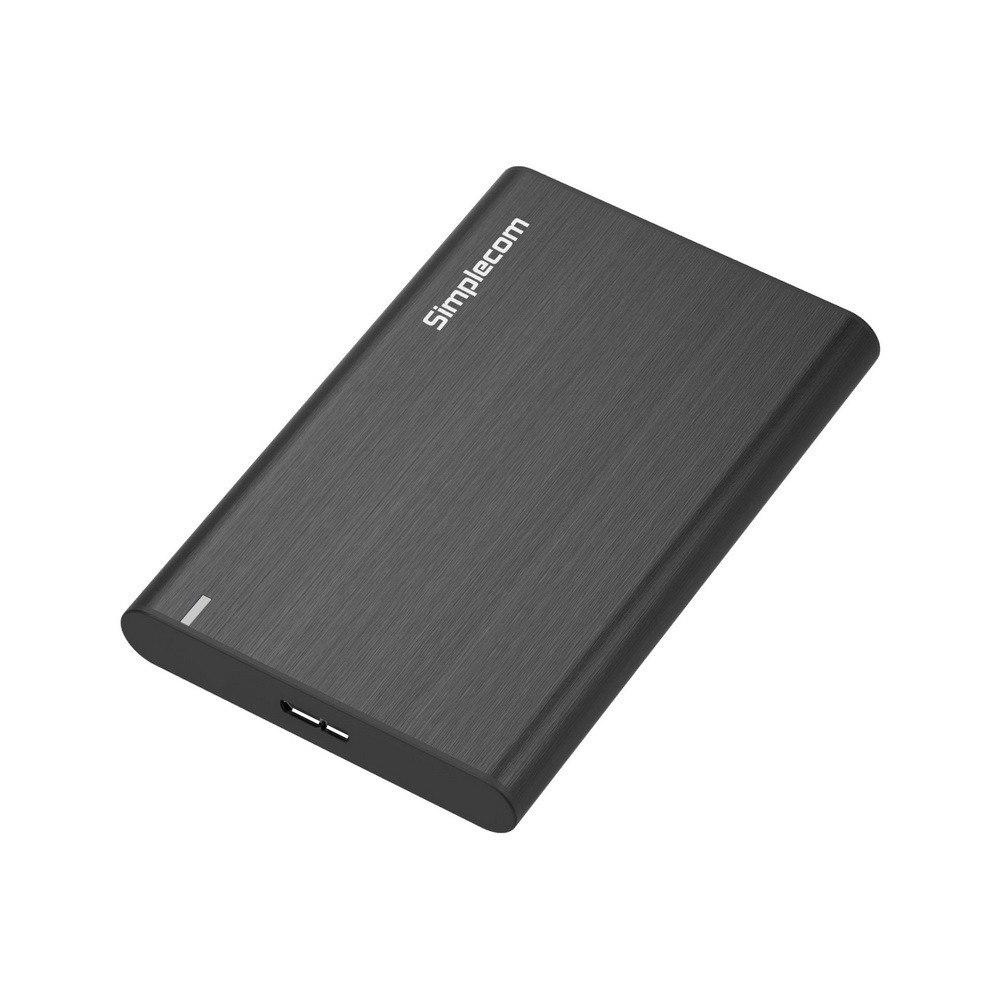 Simplecom Se211 Aluminium Slim 2.5'' Sata To Usb 3.0 HDD Enclosure Black
