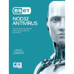 Eset Nod32 Antivirus Oem 1 Device 1 Year Physical Printed Download Card