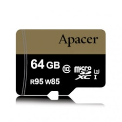 Apacer Sdxc 64Gb Uhs-I Class10 Retail For Dslr And Video Recorder