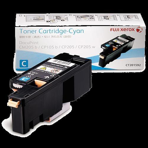 Fuji Xerox CT201592 Original Toner Cartridge - Cyan