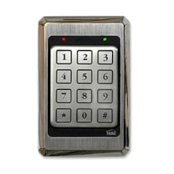 Leviton Security & Automation Hai Access Control Keypad Stainless Steel, Weather & Vandal Proof