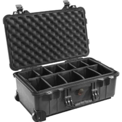 Pelican 1510 Case With Dividers Blk