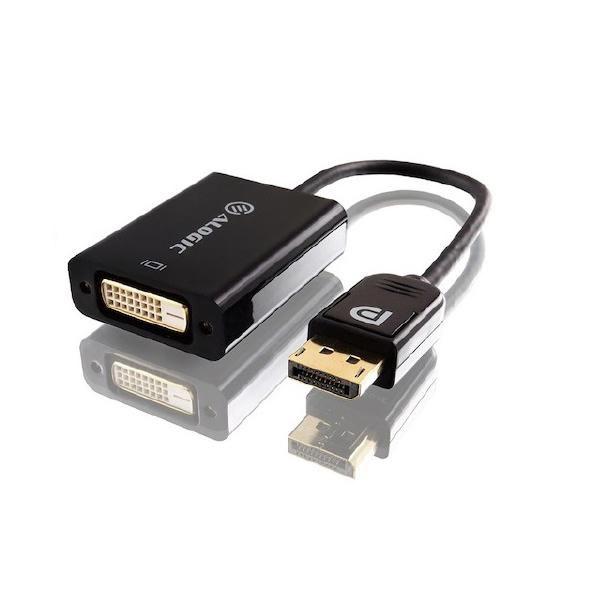 ALOGIC 15cm DisplayPort 1.2 to DVI Adapter - Male to Female
