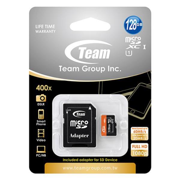 Team Micro Sdxc 128Gb Uhs-I