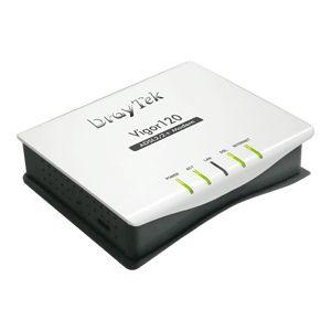 Draytek Vigor 120 ADSL2+Modem Router 1 X Lan/Vpn Passthru/SPI Fwall