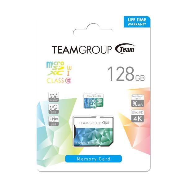 Team Micro SDXC 128GB Uhs-I U3 Speed