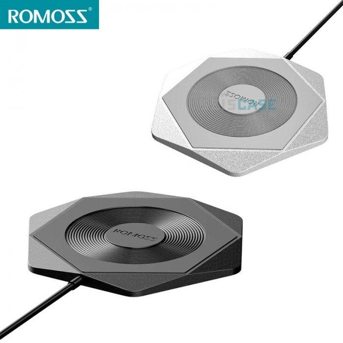 Romoss Hexa Wireless Charging Pad Silver