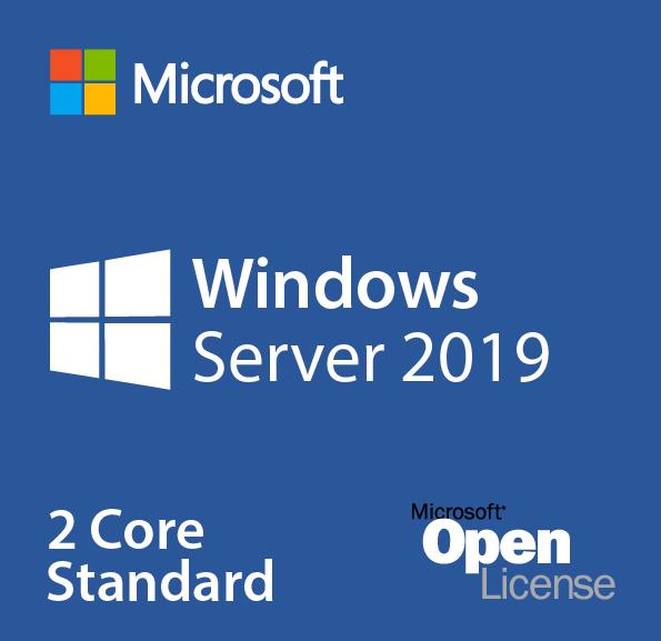 Microsoft Windows Server 2019 Standard - Licence - 2 Core - Volume